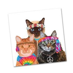 CAT HARRY Party //for Decoupage Craft 4 x Single Table Paper Napkins