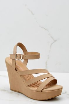 1b7adacd5a4a00 Step This Way Nude Platform Wedges