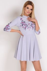 02ca6d83ca8951 AVARO MAXI Elegancka sukienka w kwiaty SU-1417 | Inspirujące sukienki |  Pinterest