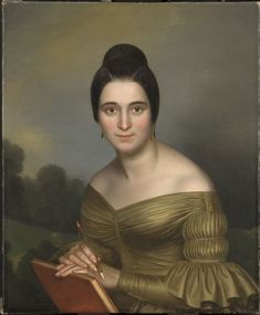 Philadelphia Museum of Art - Collections Object : Portrait of a Woman by Edouard Collet c.1839
