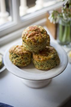 Wild Garlic & Cheddar Scones | DonalSkehan.com, The perfect way to celebrate wild garlic's short season.