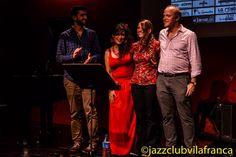 About Nina en el Jazz Club de Vilafranca Max Villavecchia, Alba Serrano, Laia Fortià & Brady Lynch