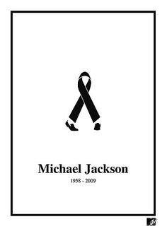 Tribute #logo to Michael Jackson, 1958-2009 by BBDO