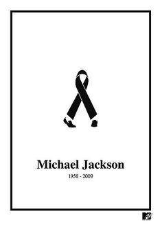 Tribute #logo to Michael Jackson, 1958-2009 by BBDO