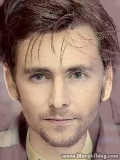 David Tennant and Tom Hiddleston face morph. IT IS BEAUTIFUL!!!!!!!