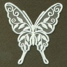 Organza Decorative Butterfly 5 - 4x4 | What's New | Machine Embroidery Designs | SWAKembroidery.com Ace Points Embroidery