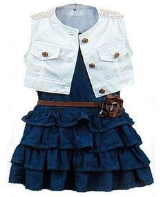 schöne kleider Mädchen Sommer Kleid rock girl jacke kinder 110 116 Zeagoo http://www.amazon.de/dp/B00ZKAH328/ref=cm_sw_r_pi_dp_pTPMwb15Y4PBD