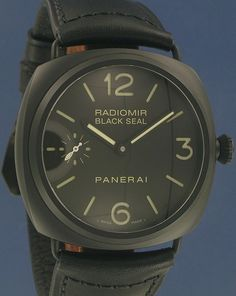 Panerai Radiomir Black Seal.  The more I look at Panerai, the more I want one for my next big watch.  Specifically, this one.