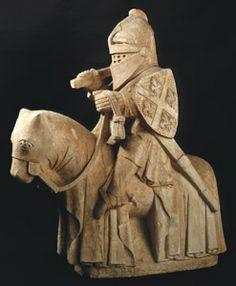 Cavaleiro, Calcário Museu Nacional Machado de Castro, Coimbra