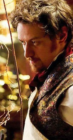 James McAvoy: Victor Frankenstein.