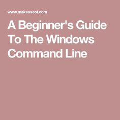 The command line lets you communicate directly with your computer and instruct it to perform various tasks. Computer Repair, Computer Programming, Pc Repair, Windows Software, Loch Lomond, Email Marketing, Prompts, Wordpress, Coding
