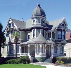 Victorian Turret Houses | Houses & Cabins