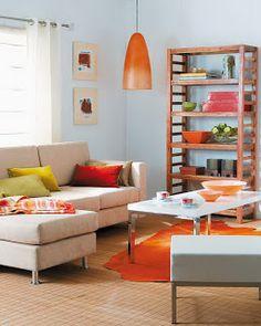 Idées de décor colorées pour le Salon ~ Décor de Maison / Décoration Chambre