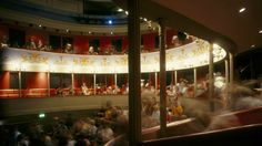 Theatre Royal Bury St Edmunds. The only surviving Regency playhouse in Britain.