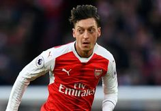 Arsenal star Mesut Ozil has returned to the training with his club after recovering from a Flu att...