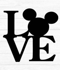 Disney SVG Decal Cutting File / Clipart iron on, Eps, Dxf, Png, & Jpeg Cricut Silhouette Mouse ears Disneyland World Mickey Love Disney love Disney Font Free, Disney Diy, Disney Crafts, Disney Fonts, Disney Ideas, Disney Iron On, Mickey Love, Cute Clipart, Silhouette Cameo Projects