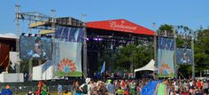 Meet our Newest Festival Stage – the 70'x50' Load Bearing Rental Stage and Roof System