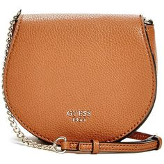 5bfb7c5dc1d2 GUESS Cate Saddle Cross-Body ( 45) ❤ liked on Polyvore featuring bags
