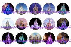 Princess Castle Bottle Cap Images
