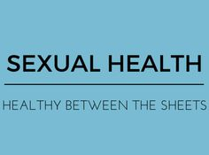 Womens sexual health questions