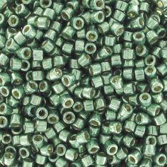 Miyuki Delicas Duracoat 11/0 DB1845 - Galvanized Sea Green
