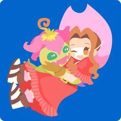 Mimi Tachikawa and Palmon #DigimonAdventure