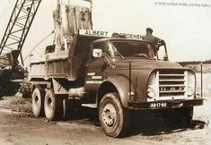 1966 Daf torpedo front with 6X4 Timken tandem.