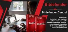 Bitdefender Central is a web platform where users can easily create a Bitdefender account. It helps users in managing their various Bitdefender products and services on different devices from one single account.