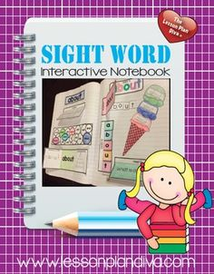 This sight word interactive notebook contains 220 words that your students can practice!This pack uses the K-2 Dolch Sight Word list. This also serves as a handy study guide for them to take home and study! My students complete 2 sight words per week so this is perfect to use for my mini-lessons and for my students to practice.