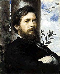 Arnold Böcklin (1827 - 1901), Selbstportrait (1873) - Arnold Böcklin
