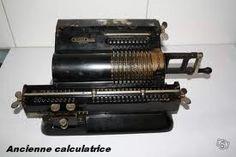 Anciennes calculatrices