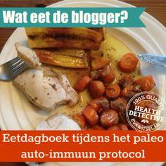 Eetdagboek paleo auto-immuun protocol | www.evawitsel.nl