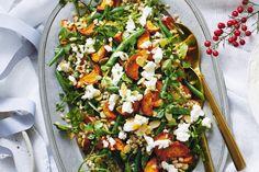 Sweet potato, green bean and barley salad main image