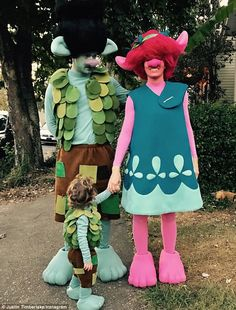 Justin Timberlake, his wife Jessica Beil and their son Silas also won Halloween in their a...