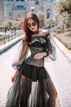 Custom Black lace underbust corset,women sexy lingerie,gothic lace corset,steel bones corset, mesh corset, halloween costum Underbust Corset, Lace Corset, Lace Tights, See Through Dress, Gothic Corset, Sexy Lingerie, Bones, Halloween Costumes, Sexy Women
