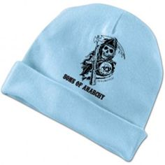 Sons Of Anarchy Soa Baby Girl Pink Beanie Hat Brand New