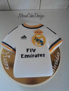 Real Madrid Jersey Cake