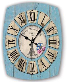 Ahşap Paris Eskitme Dekoratif Duvar Saati Modeli  Ürün Bilgisi ;  Ürün maddesi : MDF Ebat            : 32 x 40 cm. Mekanizma    : Akar Saniye Ürün fotoğraftaki gönderilecektir Eskitme duvar saati Sessiz çalışır Sevdiklerinize hediye edebilir ve her baktıklarında sizi hatırlamalarını sağlayabilirsiniz
