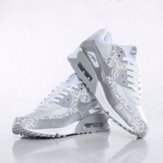 Look for this pair of Nike WMNS Air Max 90 now at shops including SNS. Nike Shoes Cheap, Nike Free Shoes, Nike Shoes Outlet, Running Shoes Nike, Cheap Nike, Air Max Leopard, Snow Leopard, Leopard Spots, Air Max 90