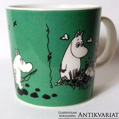 1991-1996 Enchanted Doll, Tove Jansson, Moomin, Food Humor, Troll, Wooden Toys, Cups, Mermaid, Creatures