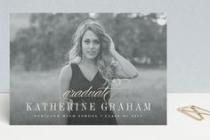 Momentous Year Foil-Pressed Graduation Announcements by Jessica Williams at minted.com
