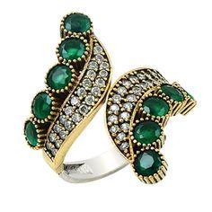 Inel de argint cu pietre si cristale - handmade - model deosebit Gemstone Rings, Gemstones, Israel, Model, Vintage, Jewelry, Jewlery, Bijoux, Schmuck