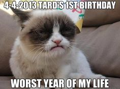 4-4-2013 Tard's 1st birthday*