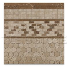 Decorative Pencil Tile Amazing Tile Inserts  Tile Wpencil Liner & 6X6 Travertine On A Design Inspiration