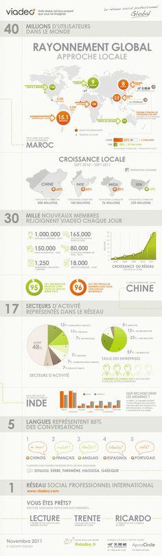 Viadeo infographics