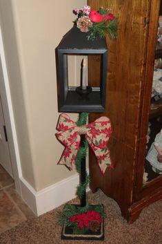 Dollar Tree DIY Christmas Lamp Post   Lovin' Life's Journey