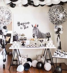 Black & White party for Madison
