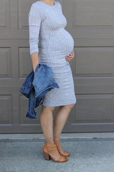 ONE little MOMMA: Stitch Fix Maternity with OLM: How to Dress when Pregnant. You can still look stylish and feel. Maternity Sweater Dress, Maternity Wear, Maternity Dresses, Maternity Fashion, Maternity Style, Maternity Photos, Maternity Swimwear, Maternity Clothing, Pregnancy Looks
