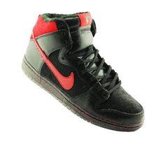 #Nike SB Dunk High-Krampus #sneakers #kicks