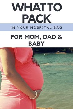 What To Pack in Your Hospital Bag | Hospital Bag for Husband | What to bring to the hospital | Childbirth | Hospital Essentials | Newborn Essentials